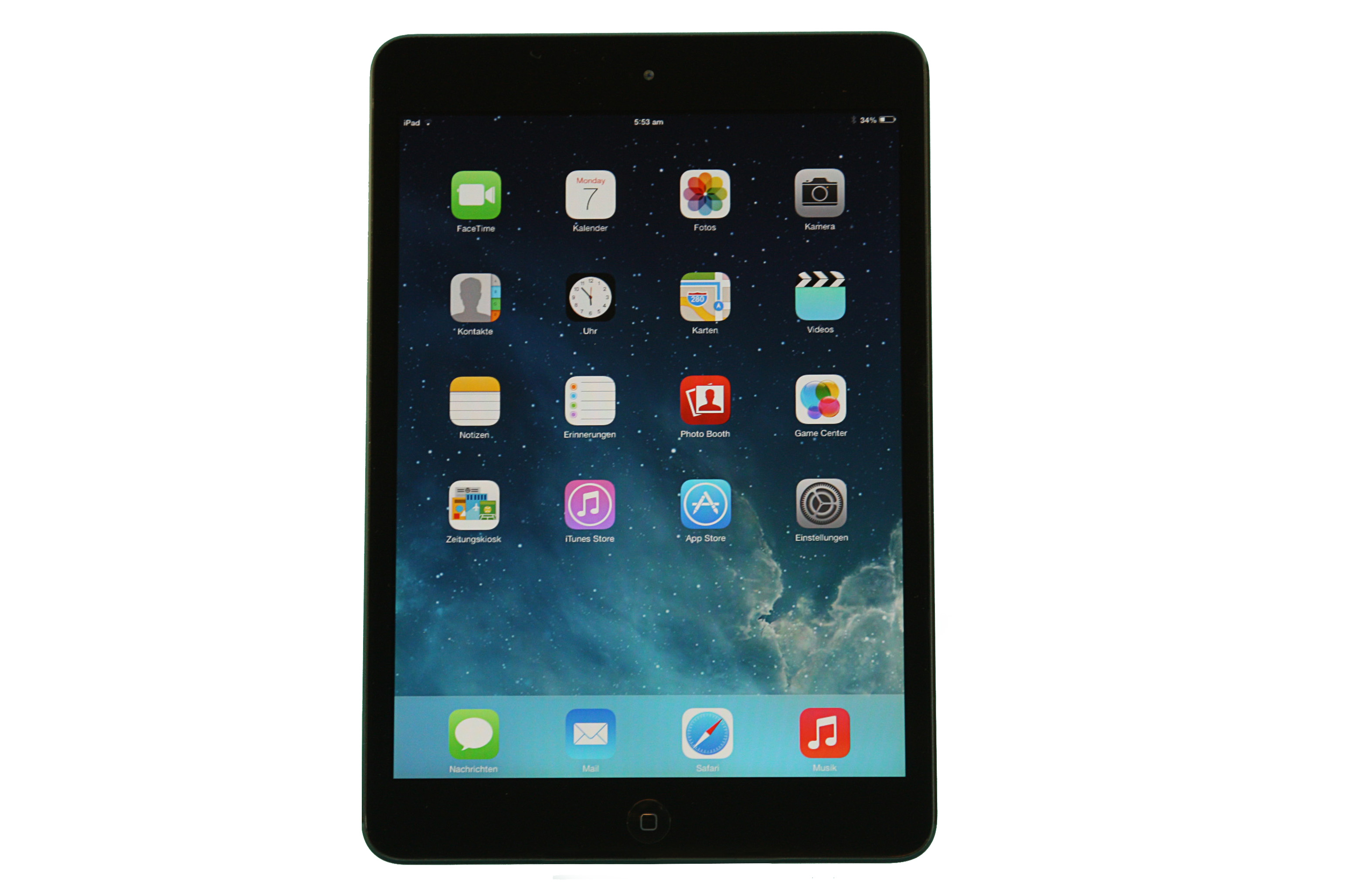 apple ipad mini 1 wi fi 32gb schwarz 7 9 gebraucht. Black Bedroom Furniture Sets. Home Design Ideas